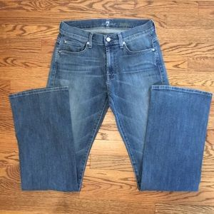 7 For All Mankind Men's Bootcut Jeans